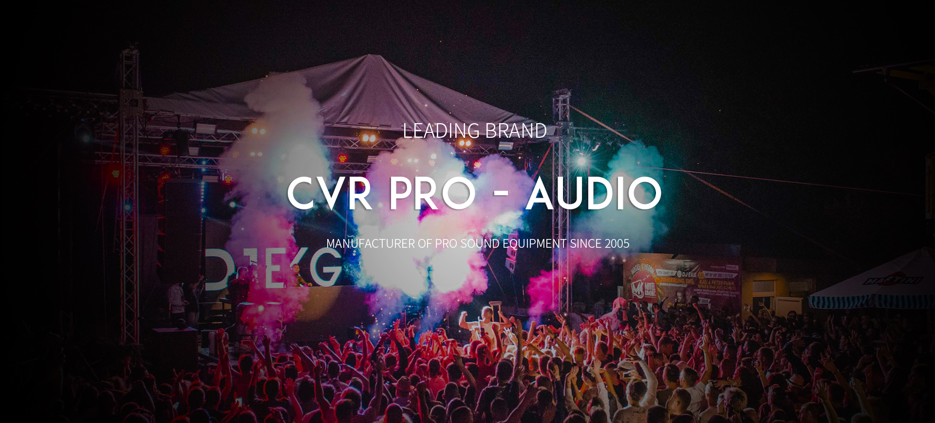 Guangzhou CVR Pro-Audio Co., Ltd